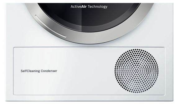 bosch self cleaning condenser manual