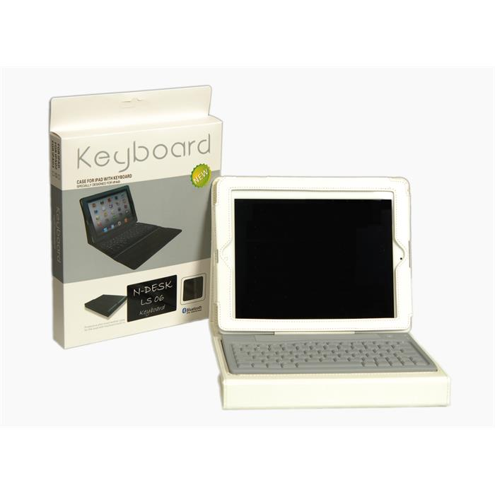 N-Desk LS06 Bluetooth iPad Klavyesi