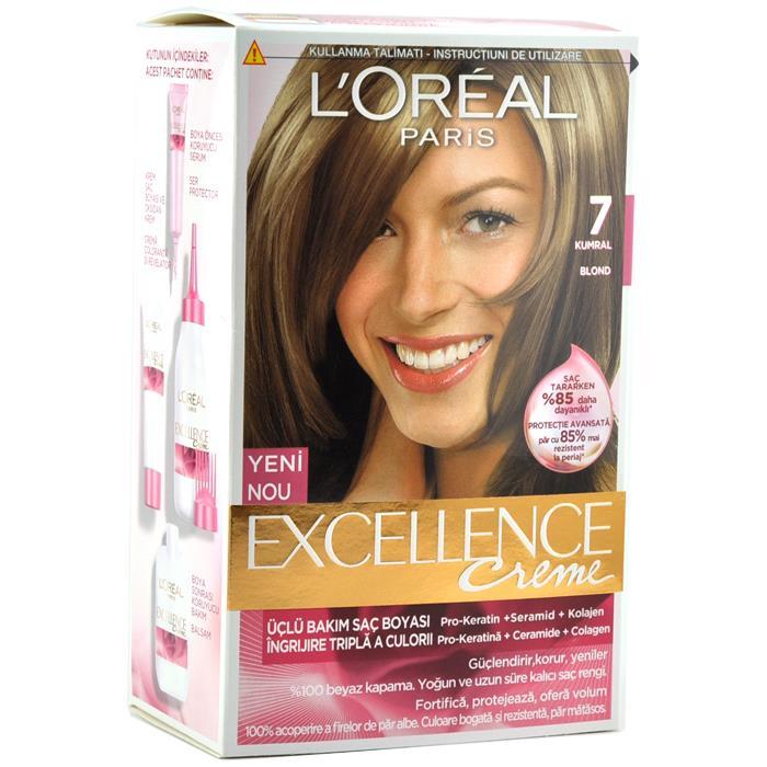 Loreal Excellence Kumral Saç Boyası 7