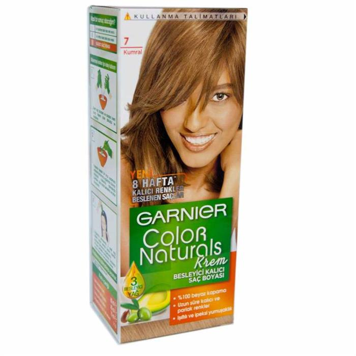 Garnier Color Naturals Kumral Saç Boyası 7