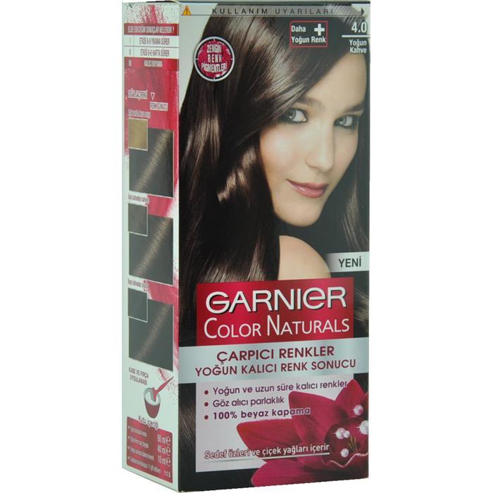 Garnier çarpıcı Renkler Yoğun Kahve Saç Boyası 4